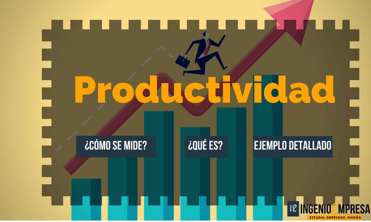 Medición de Productividad