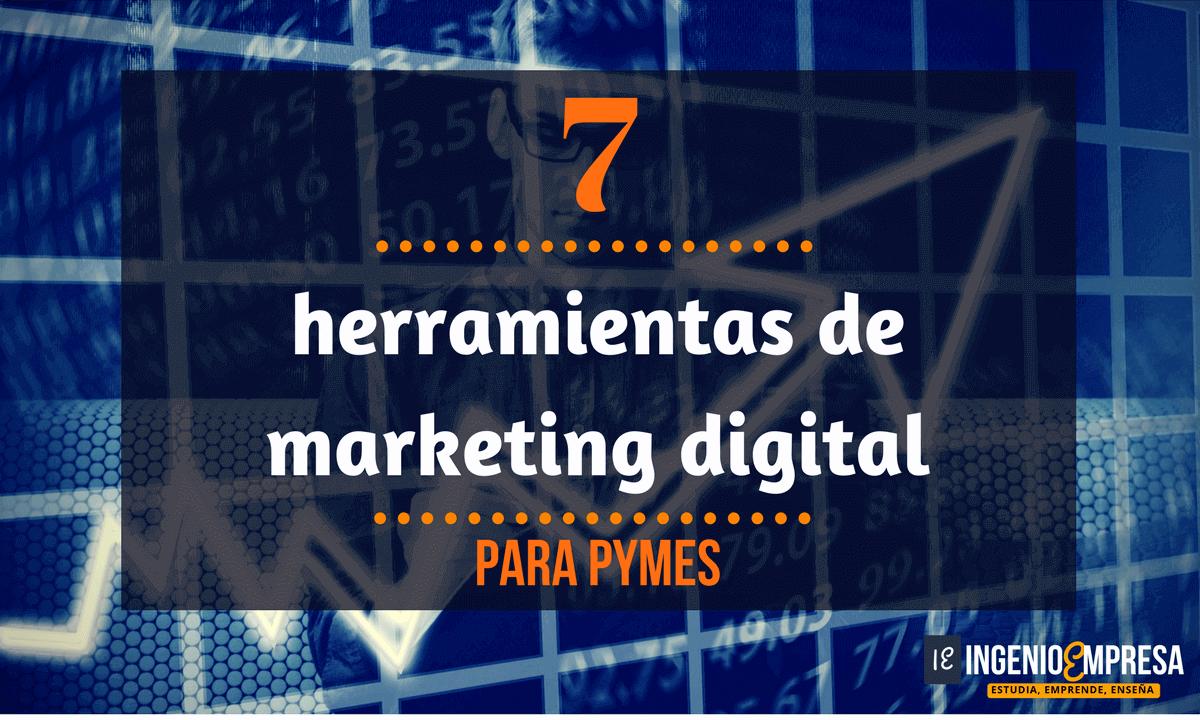 7 herramientas de marketing digital